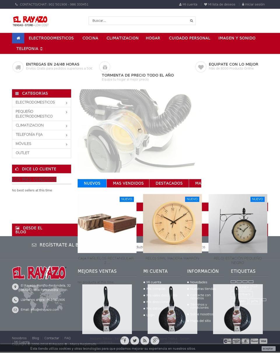 Rosa Prestashop Theme Store Examples Rosa Theme Review With