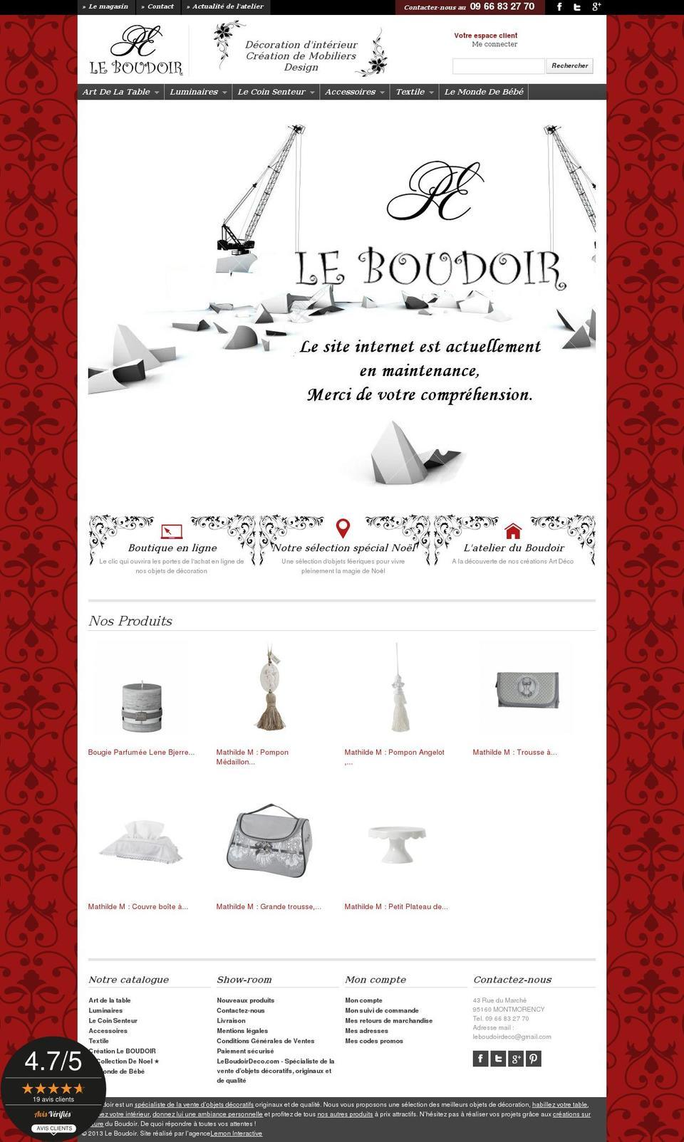 Boudoir Prestashop Theme Store Examples Boudoir Theme